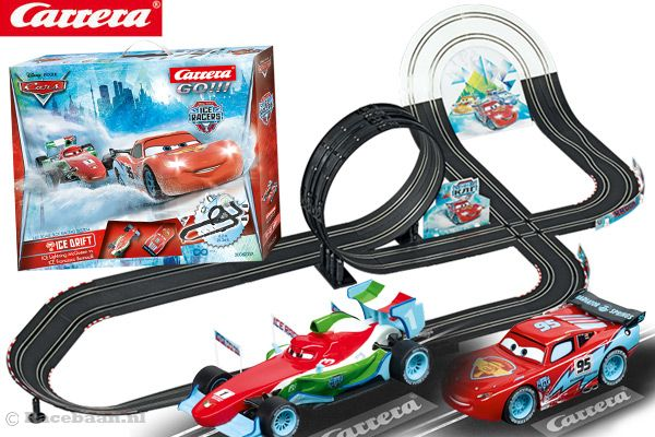 carrera go disney cars ice drift. Black Bedroom Furniture Sets. Home Design Ideas